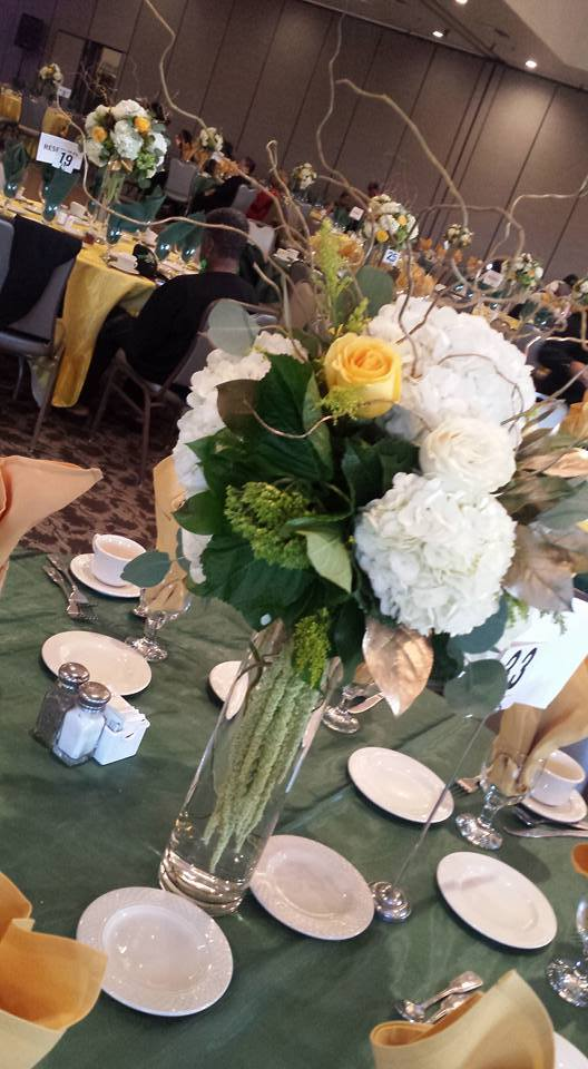 Jefferson Event and table setting