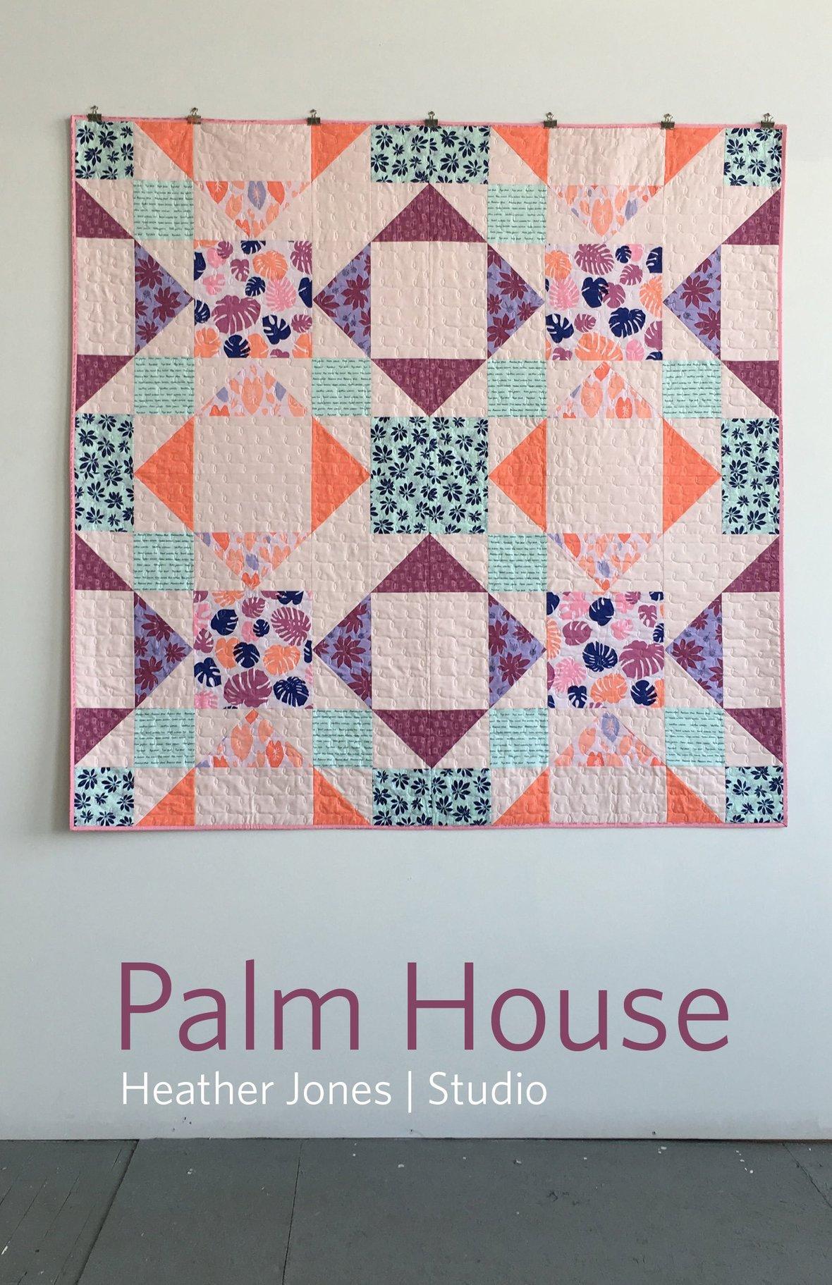 heather jones palm house sewing pattern