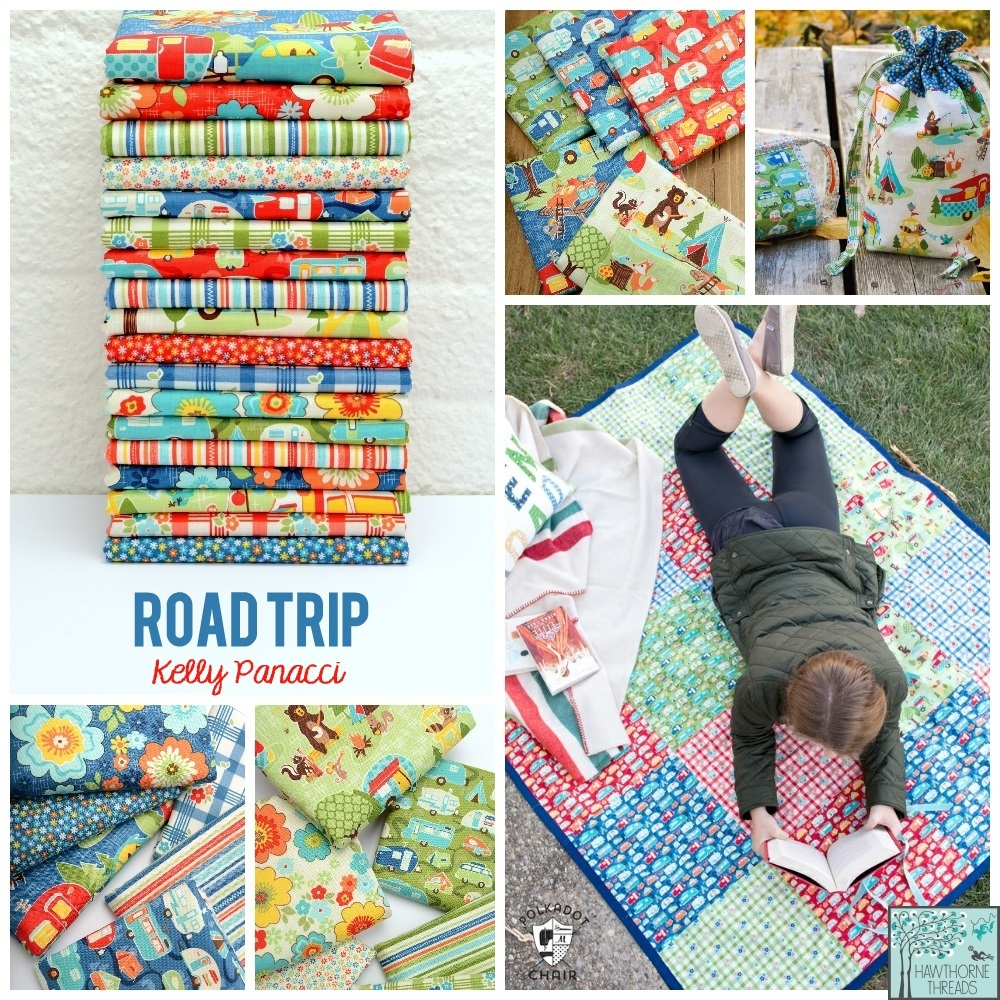 Road Trip Fabric Poster