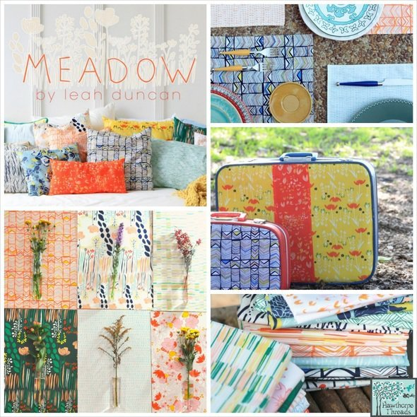 Meadow Fabric Poster