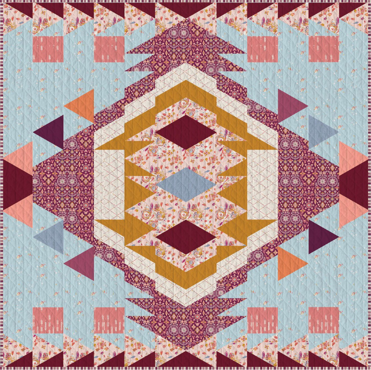 Rosewood-Fusion-Quilt-Pattern