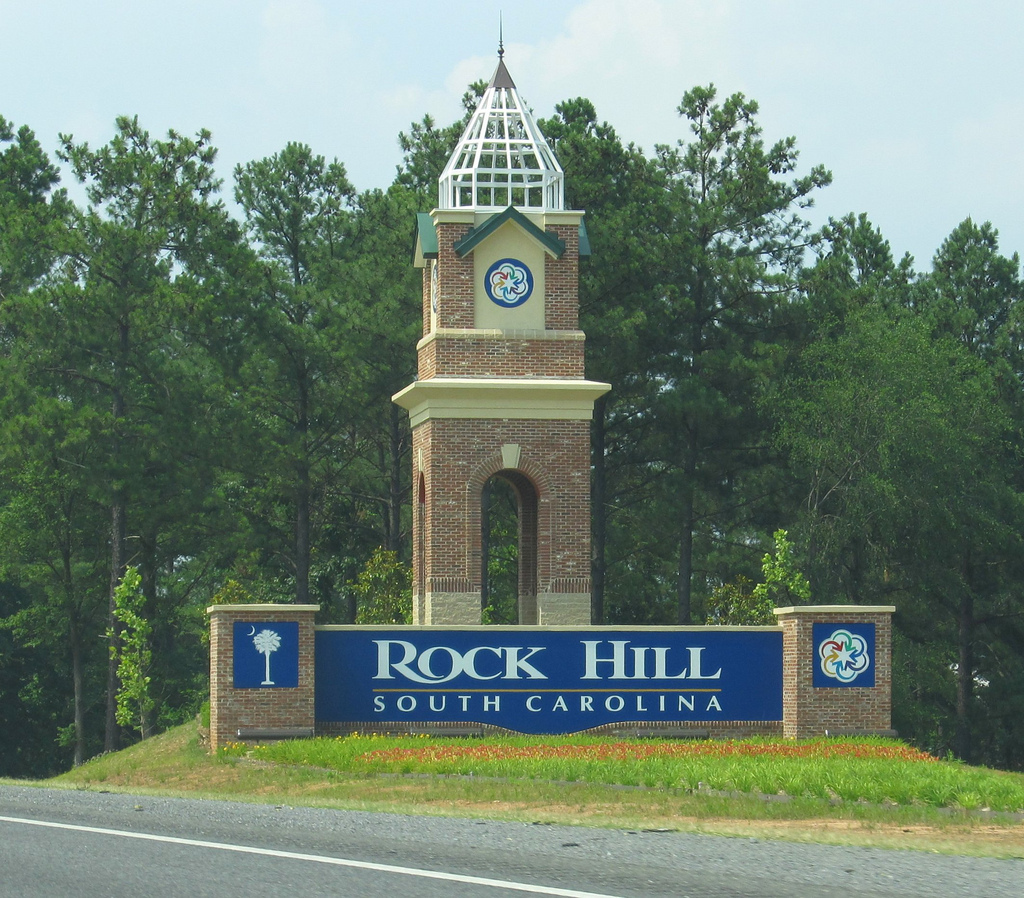 Rock Hill sign