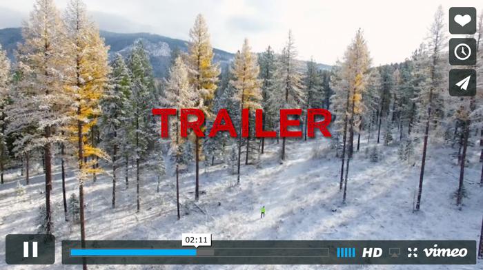 trail movie trailer graphic