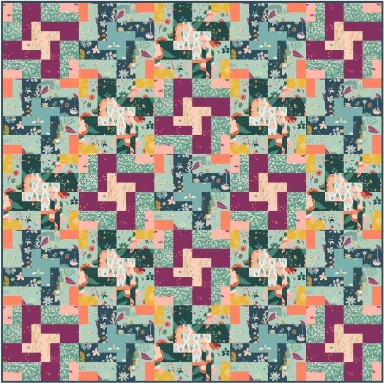 Garden Dreamer Quilt Pattern