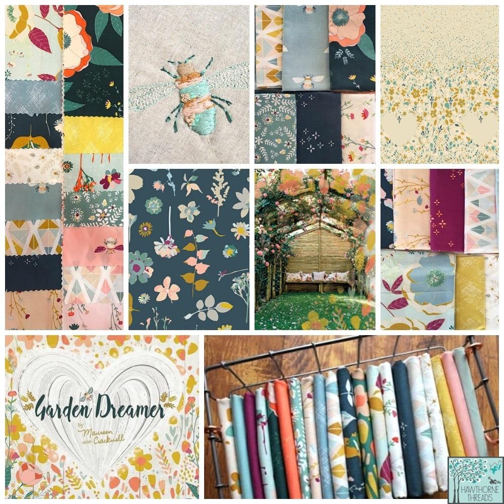 Garden Dreamer Fabric Poster