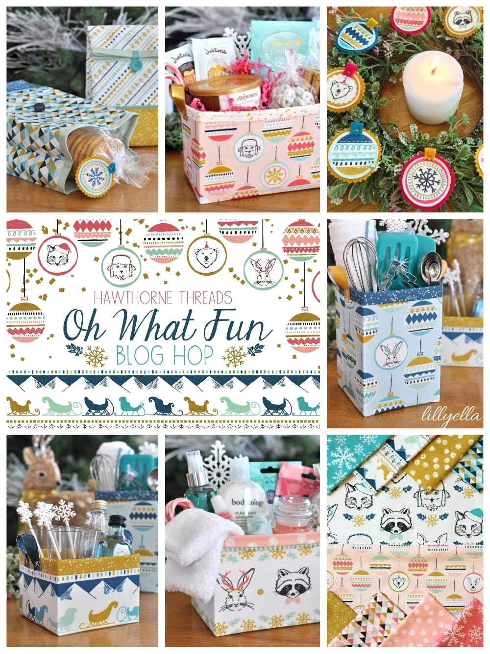 Oh What Fun Blog Hop Lillyella