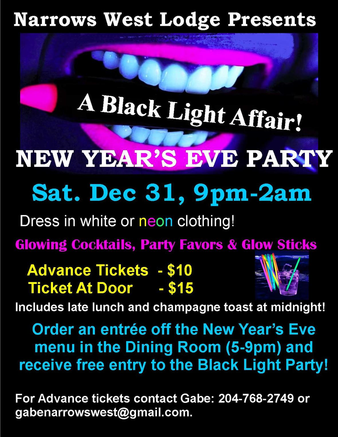 2017 Black Light Affair GR RR
