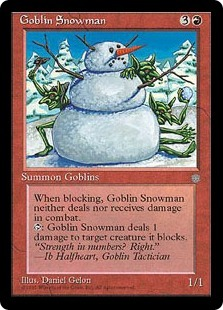goblin-snowman