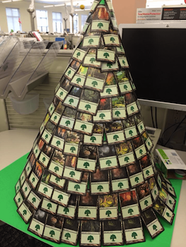 MTG-Christmas-tree