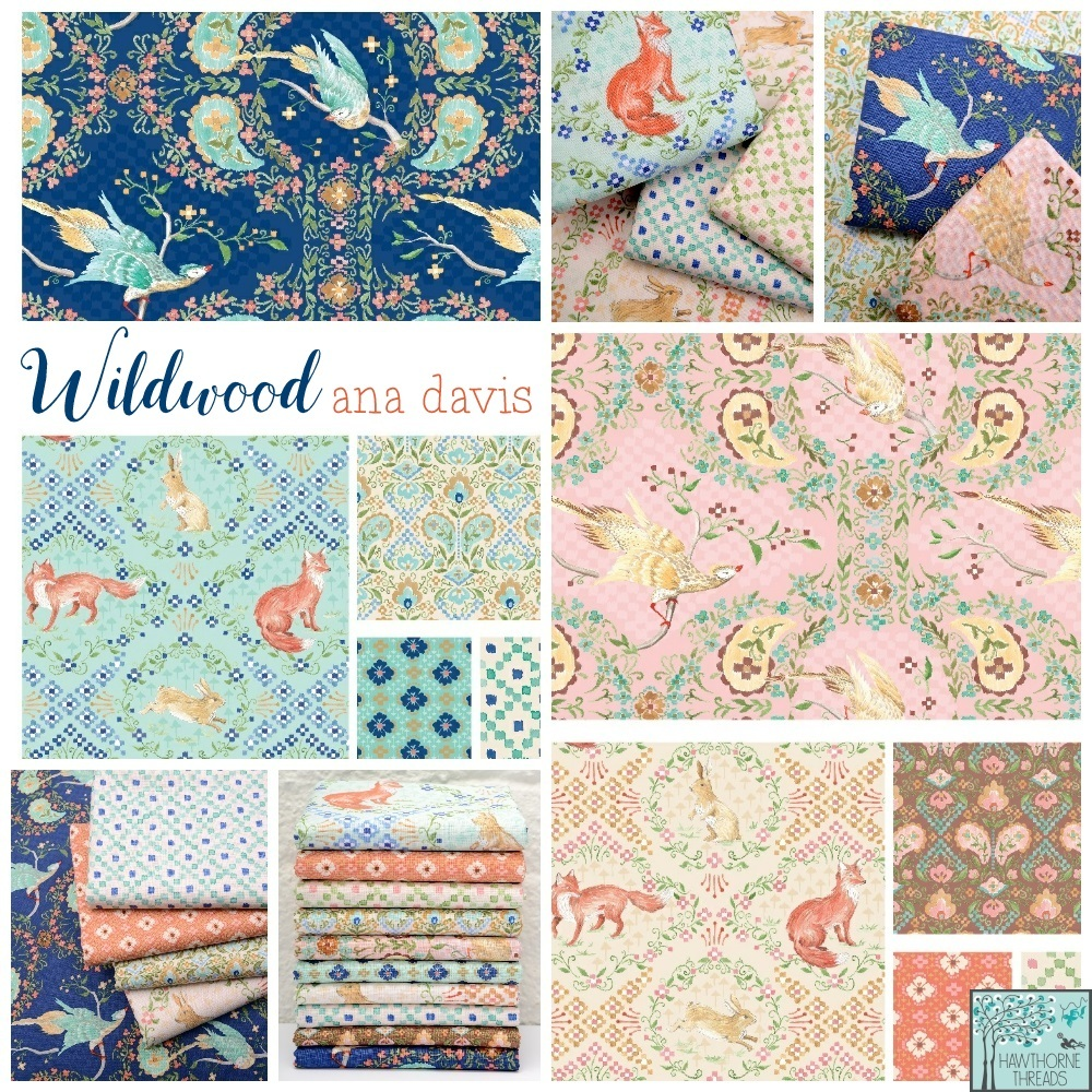 Wildwood Fabric Poster