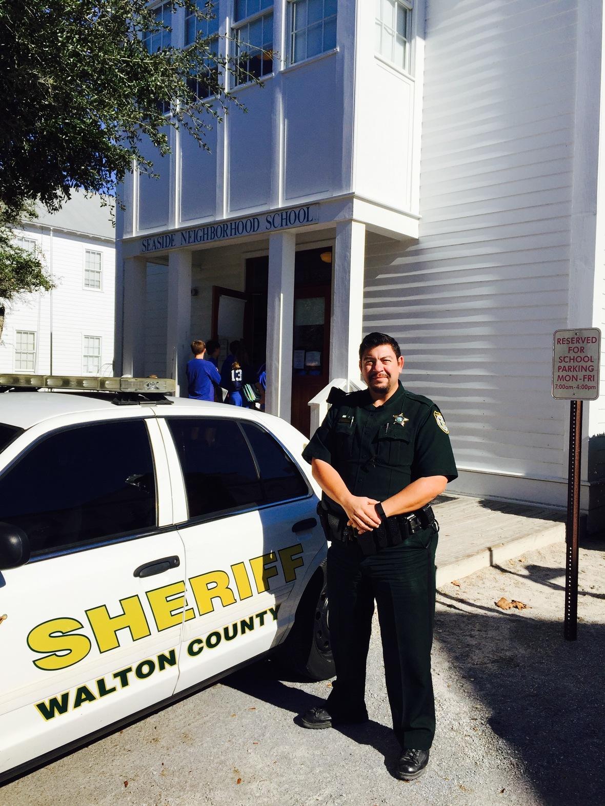 Deputy David Talley at SNS