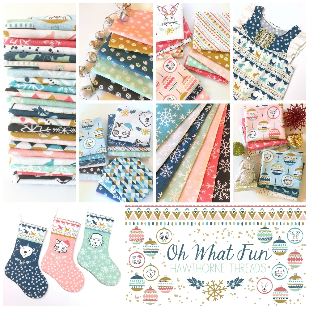 Oh What Fun Fabric Poster 1000