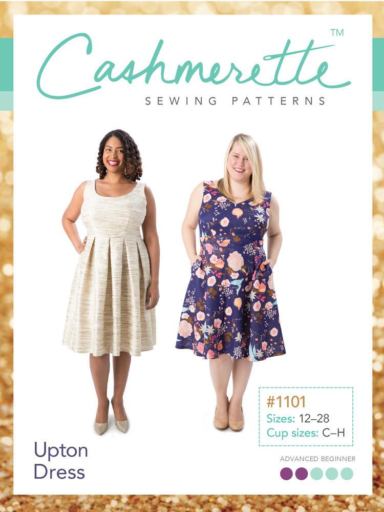 cashmerette  upton dress sewing pattern