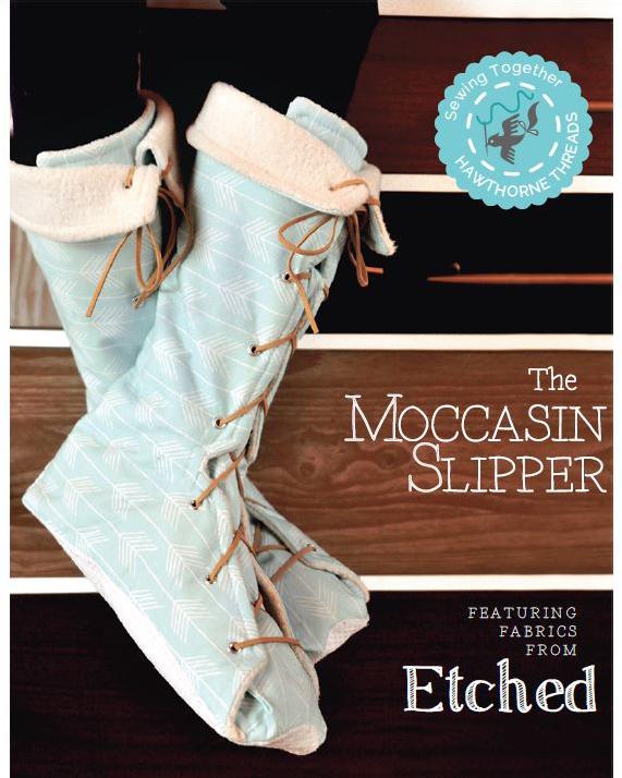 Moccasin Slipper Tutorial