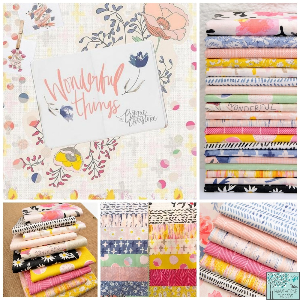 Wonderful Things Fabric Poster