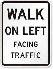 walk-on-left