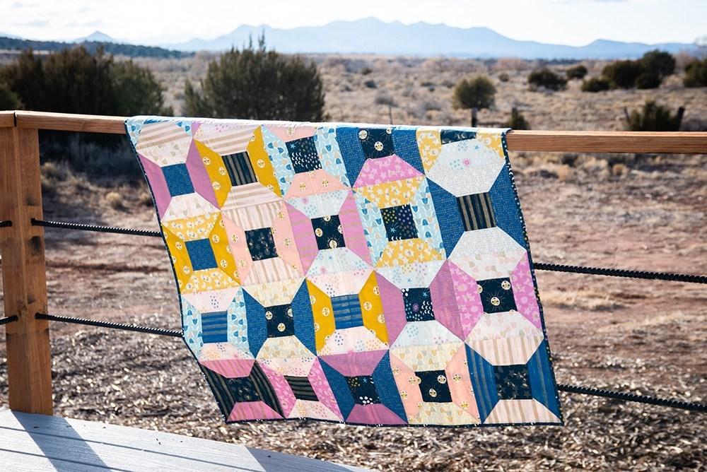 Wisecraft Handmade Portal quilt