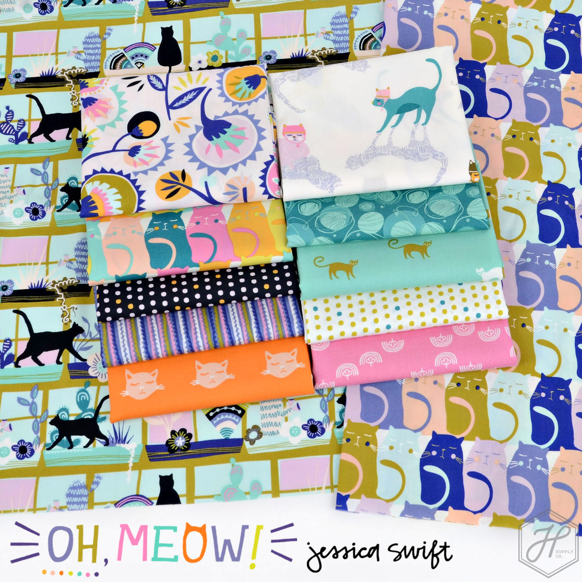 Oh-Meow-Fabric-Jessica-Swift-for-Art-Gallery-at-Hawthorne