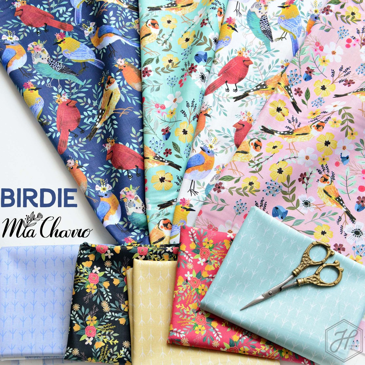 Birdie Fabric Mia Charro for Blend at Hawthorne Supply Co