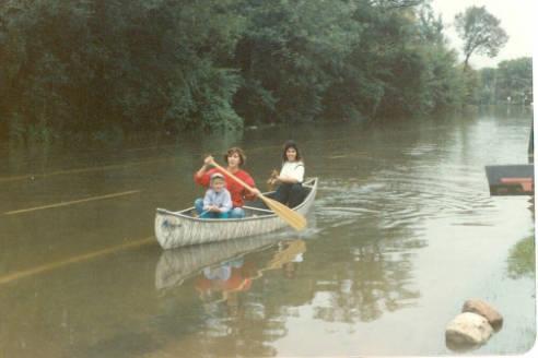 Des Plaines Flood 1987