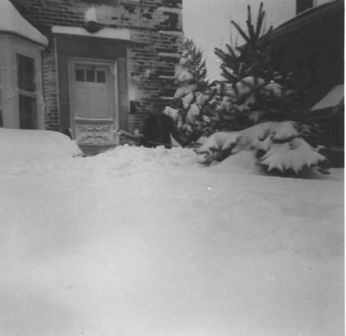 Record snow storm 1967