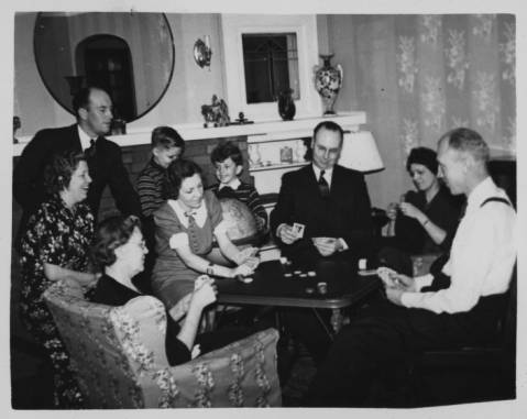 Gladys Ahbe and Family
