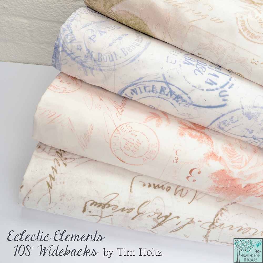 Tim Holtz Eclectic Elements Wideback Fabric Poster 1000.2