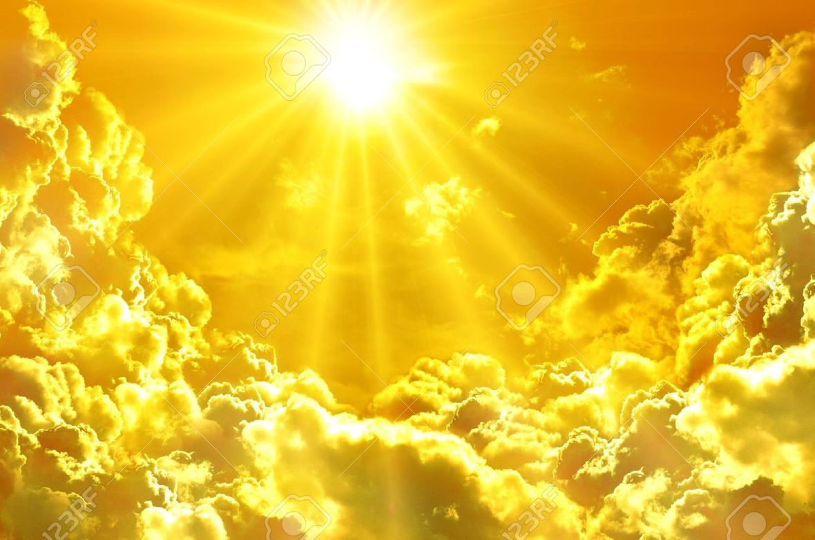 12751898-Sunset-sunrise-with-clouds-light-rays-Stock-Photo-light-spiritual-sun