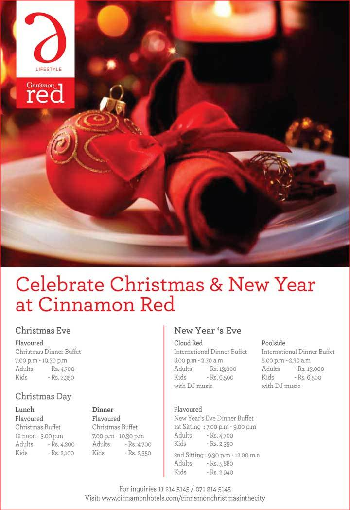 Runescape Christmas Event 2019.Celebrate Christmas New Year At Cinnamon Red