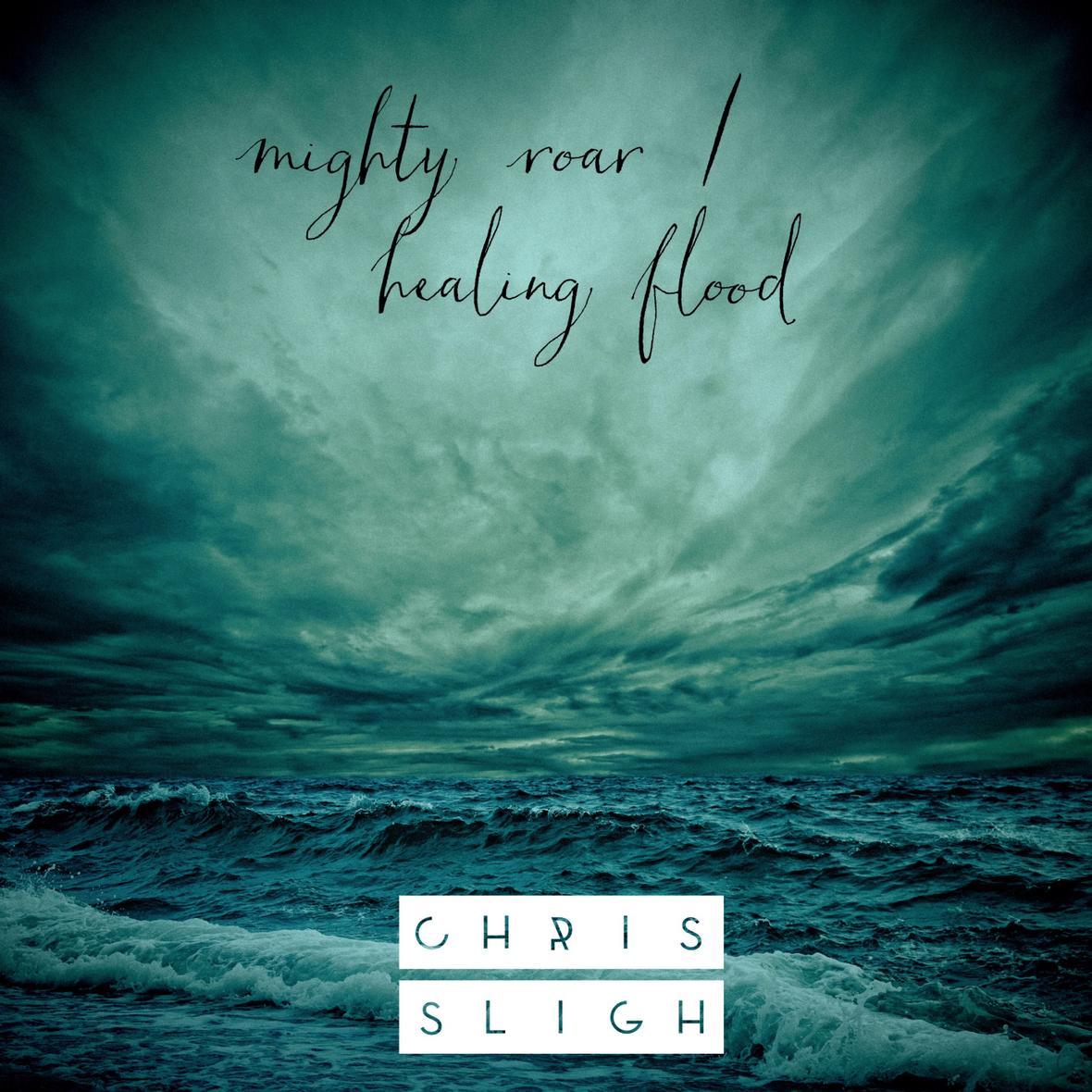 Chris Sligh - Mighty Roar Healing Flood Album ART