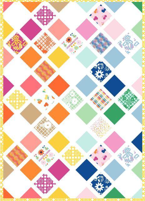 art gallery website- Fiesta Garden pattern