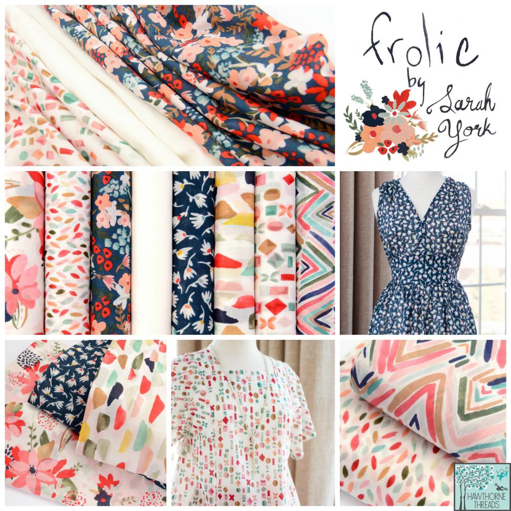 Sarah York Frolic Fabric