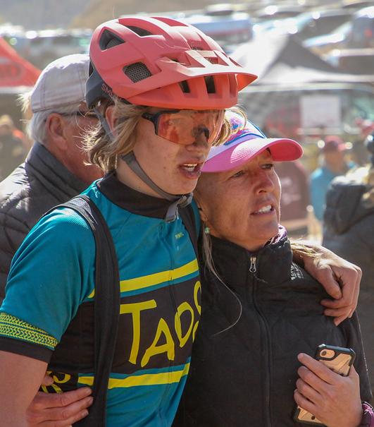 Taos Rider w Mom