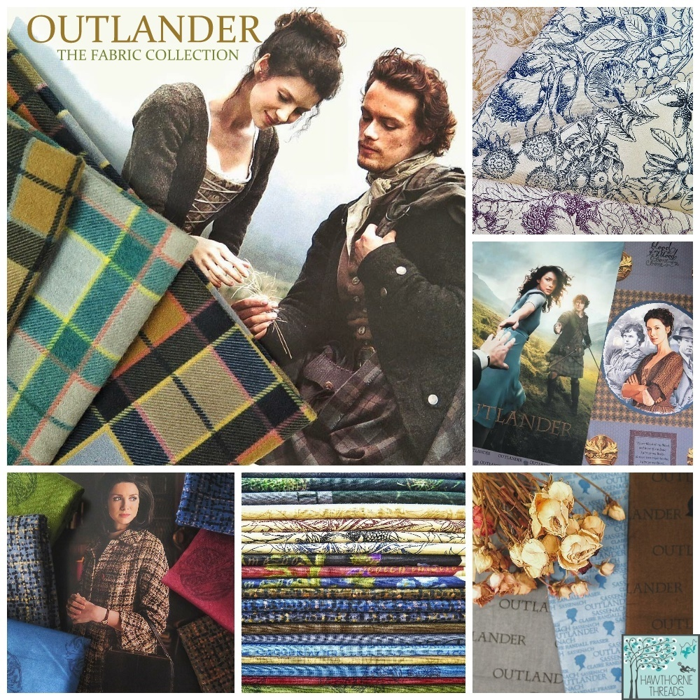 Outlander Fabric Poster