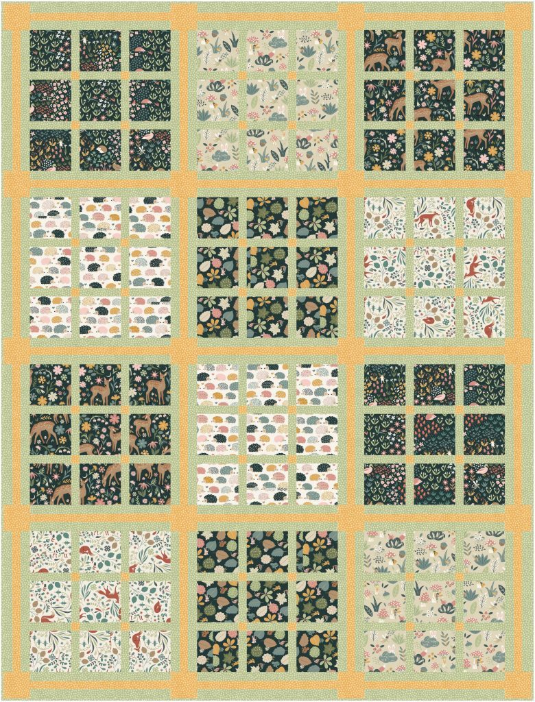 fawned of you quilt