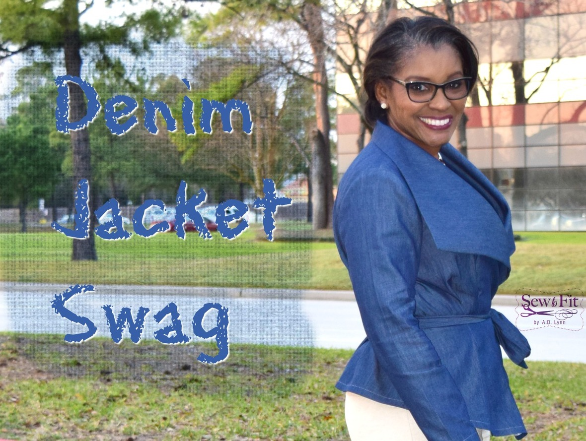 Denim Jacket- Side swag with title