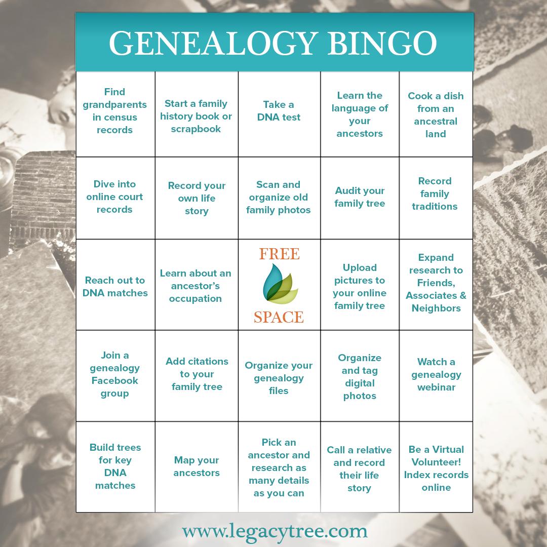 genealogy-bingo