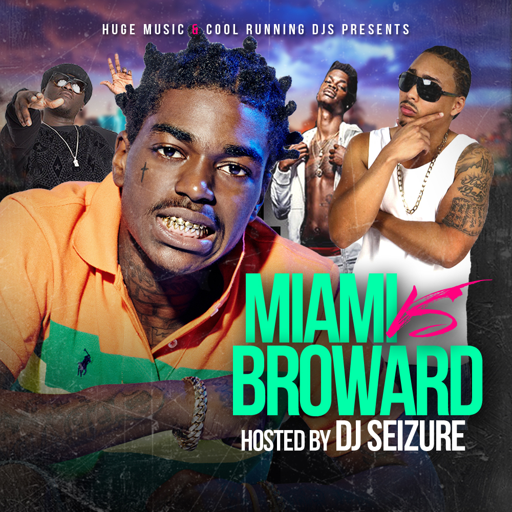 Miami vs Broward the Mixtape  Front Cover