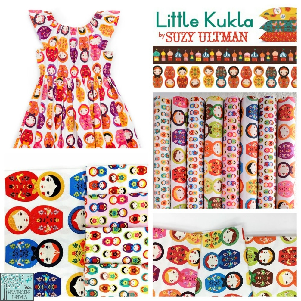 Little Kukla Fabric Poster