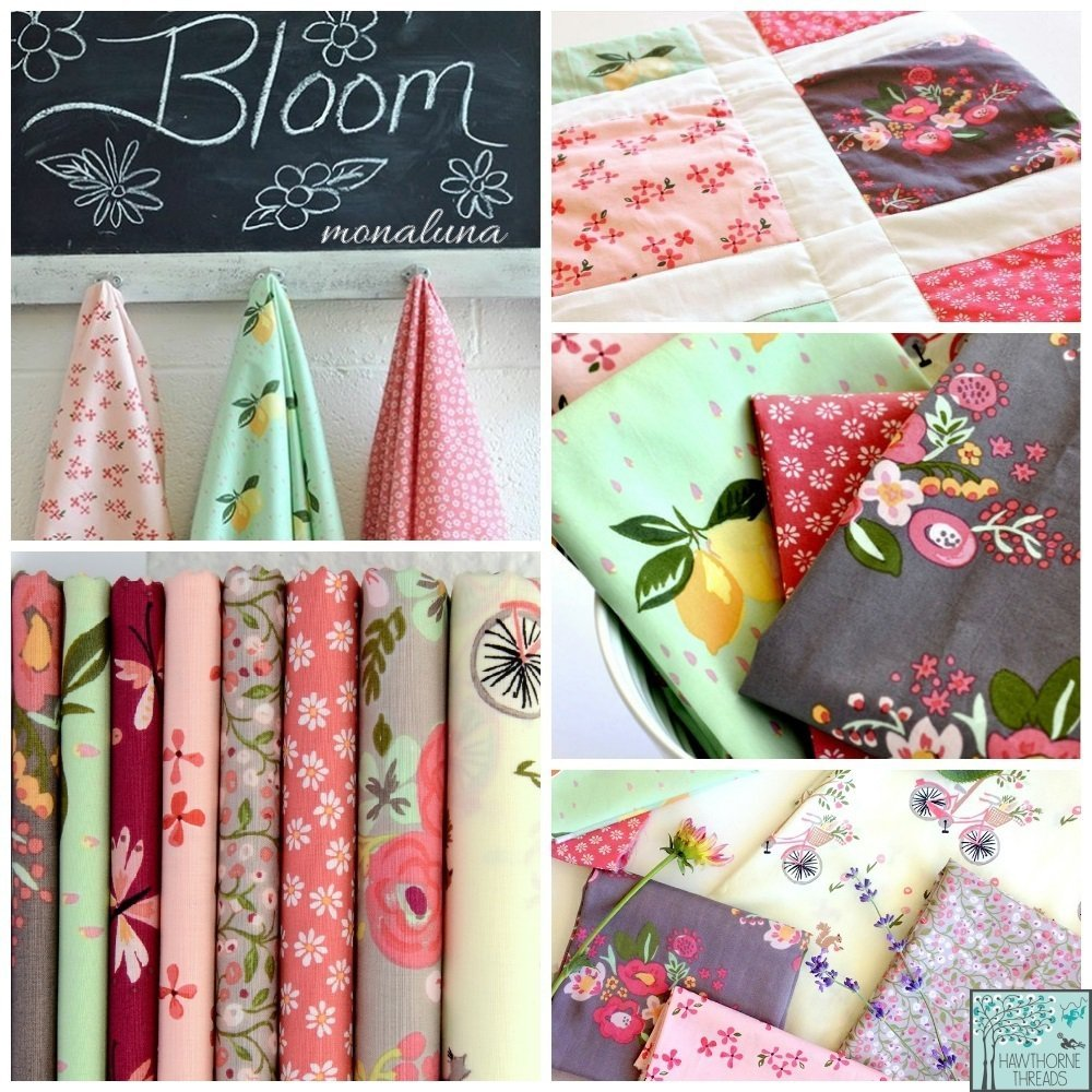 Bloom Fabric Monaluna