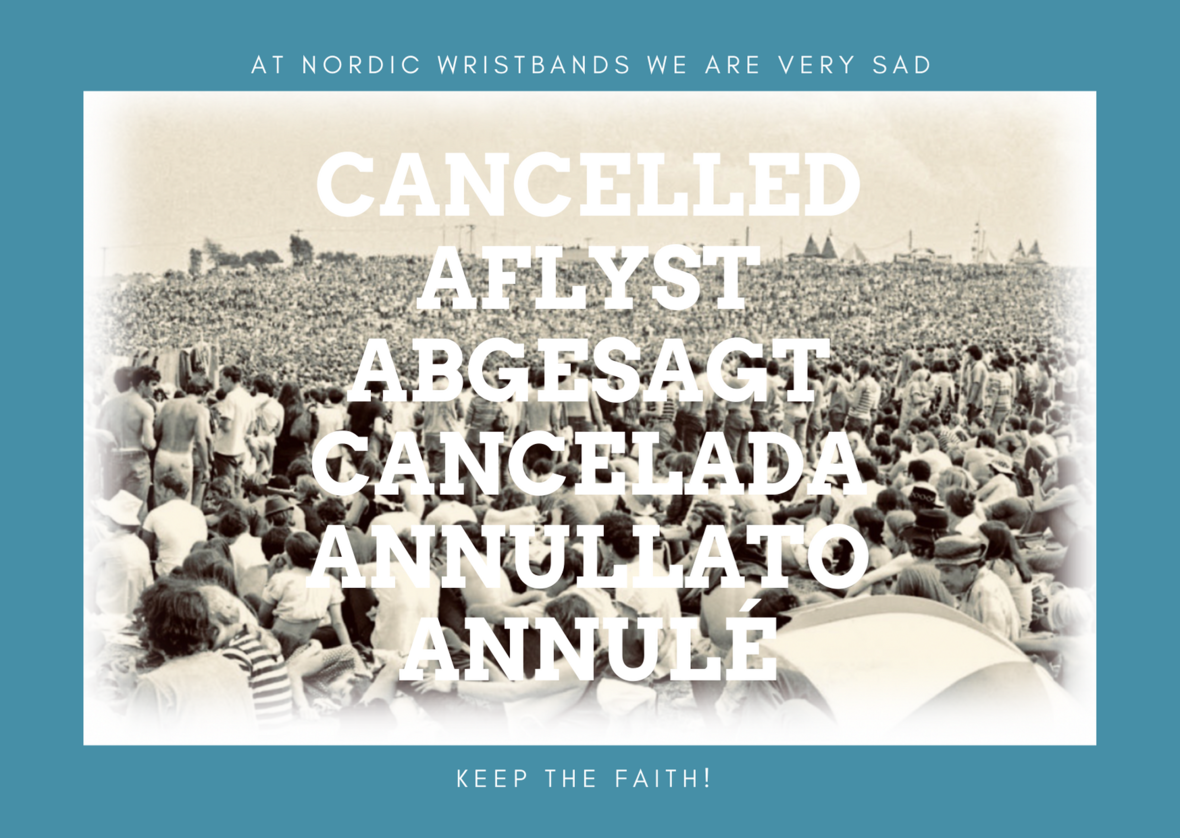 CANCELLED AFLYST abgesagt cancelada ANNULLATO