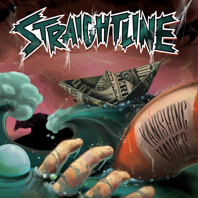 Straightline - Vanishing Values cover