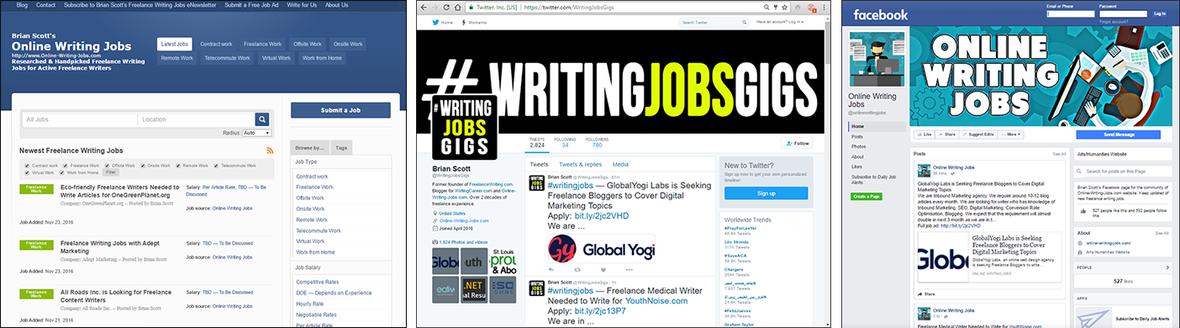 Brian Scott's Online Writing Jobs eNewsletter - Friday, Feb  3rd