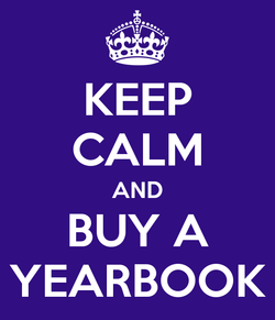 2017 Keep Calm and Buy a Yearbook
