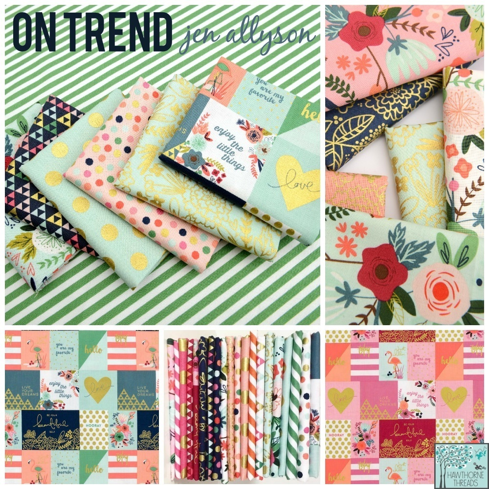 On Trend Fabric Poster