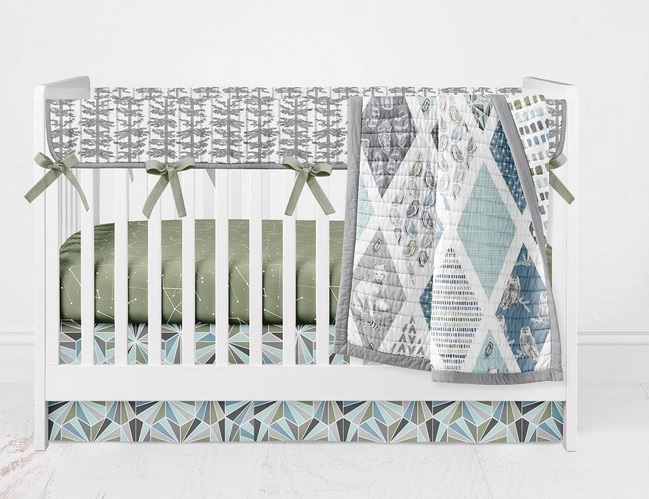 Tundra Fabric Nursery Inspiration