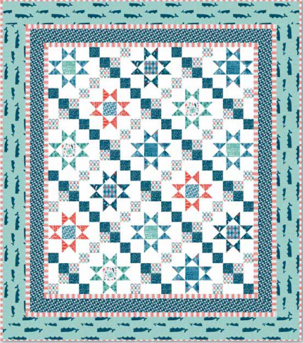 By the Sea Fabric Quilt Pattern