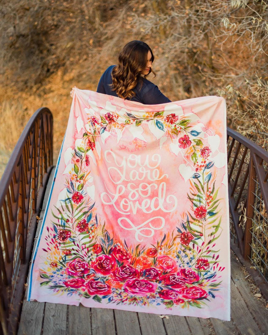 Brightly-Blooming-Quilt-Panel-Moda
