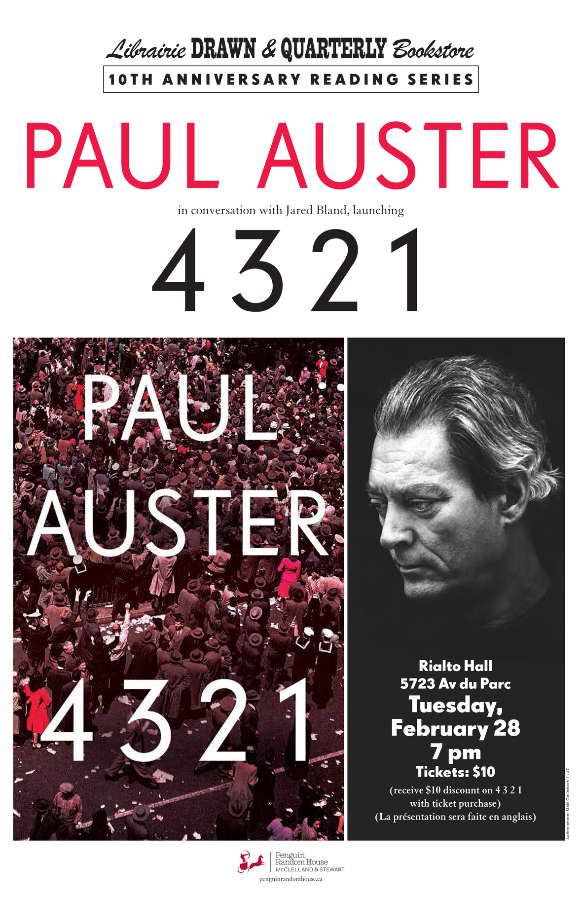 Auster - Montreal - February 28