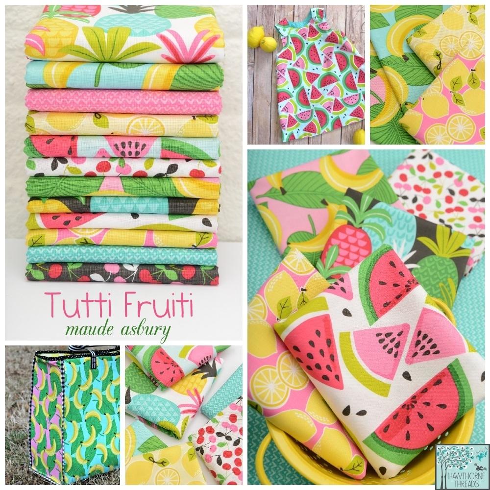 Tutti Fruiti Fabric Poster